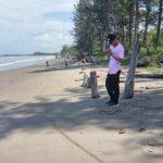 pantai rindu alam, wisata pantai, rindu alam, kalimantan selatan, wisata kalimantan